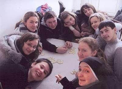 Neues Leben im Kloster und Katechetischen Zentrum von Burshtyn, Ukraine