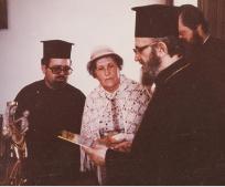 Alja Payer und Patriarch Athenagoras
