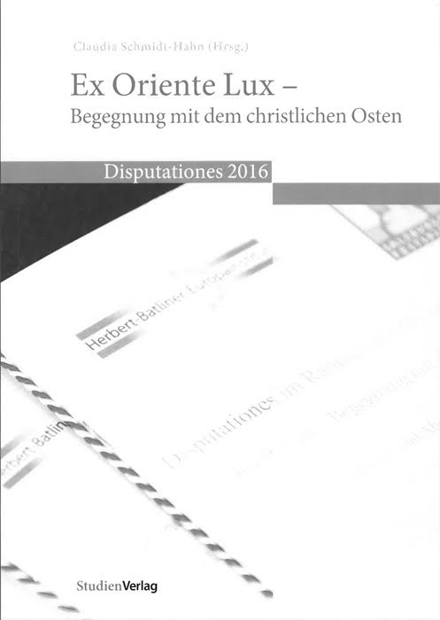 "Buchcover ""Ex Oriente Lux"""
