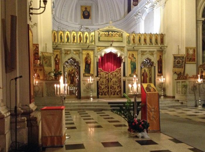 Byzantinische Kapelle im PIO