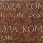 Gedenktafel Theodora Komnene