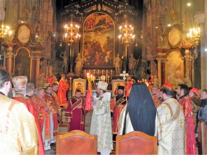 Pontifikalliturgie mit Großerzbischof Svjatoslav Shevchuk im Stephansdom, Foto: Claudia Schneider