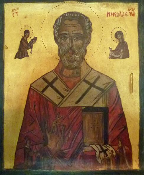 St.-Nikolaus-Ikone (Brigitta Edinger)
