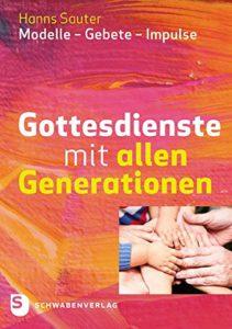 Buchcover Sauter: Gottesdienste mit allen Generationen