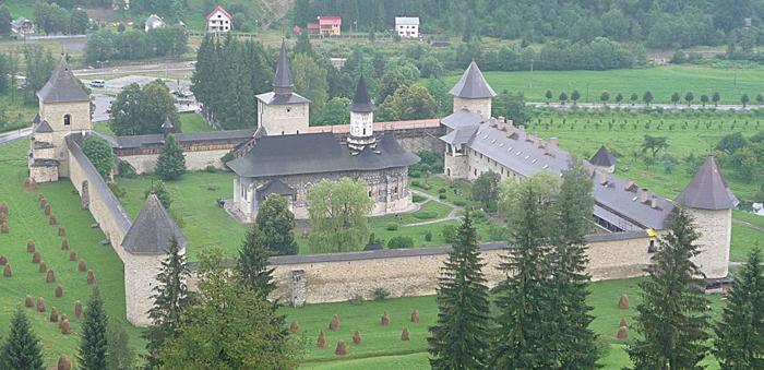 Klosteranlage Sucevita (Wikimedia Commons)