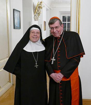 M. Perpetua mit Kardinal Kurt Koch