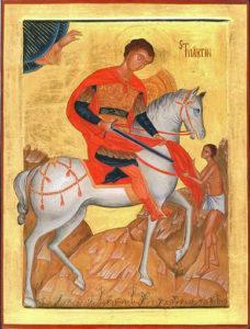 Ikone Martin von Tours