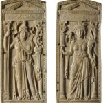 Elfenbeintafeln Roma - Constantinopolis. – © KHM-Museumsverband.