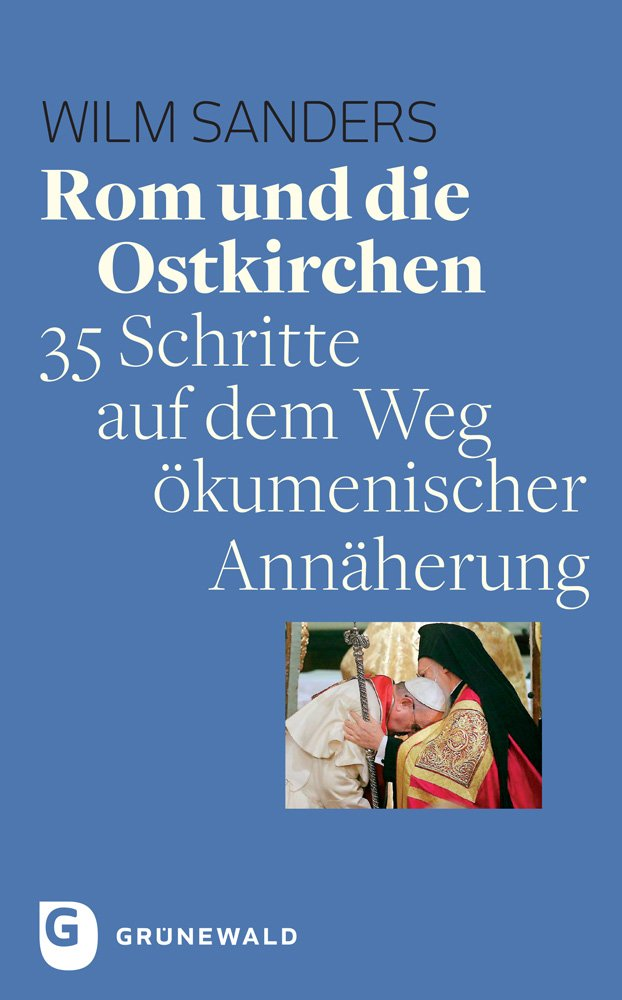 Buchcover Sanders: Rom und die Ostkirchen