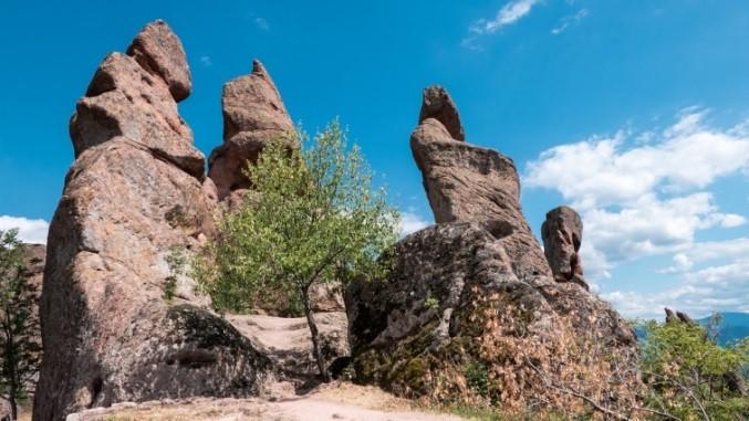 Bulgarien Bergformationen