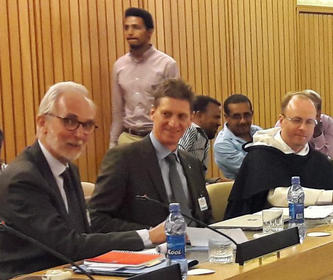 Äthiopien Konferenzbild