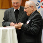 Hollweger und Patriarch Louis Sako