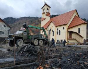 Hilfe in Bogdan (Ukraine)